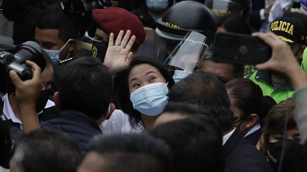 Kopf-an-Kopf-Rennen bei Präsidentenwahl in Peru