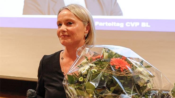 Elisabeth Schneider-Schneiter will Nachfolgerin von Doris Leuthard werden.