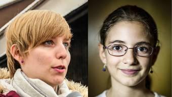 Sie sind Aufsteiger des Jahres: Johanna Gündel (24), Studentin aus Oberwil-Lieli und Gohar Tamrazyan (11), Schachspielerin.
