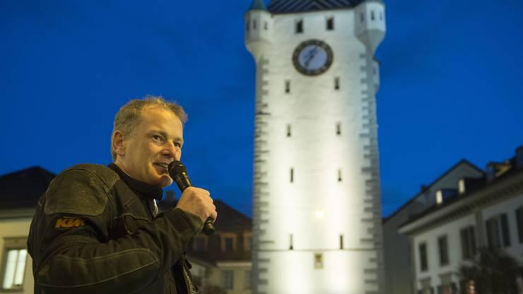 Stephan Attiger nimmt Abschied als Stadtammann.