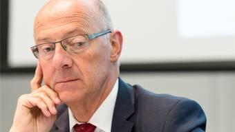 Vom «Sanierer der Nation» zum Gejagten der Bundesanwaltschaft: Hans Ziegler ist tief gefallen. Gian Ehrenzeller/Keystone