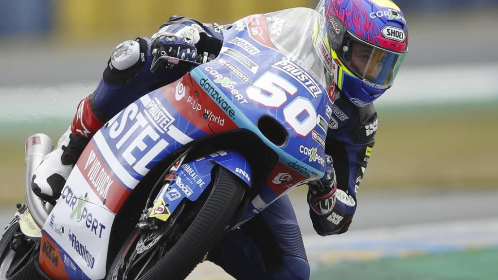 Jason Dupasquier bestritt seine zweite Saison in der Moto3.