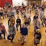 Gut im Schuss: Gut 50 Jugendliche proben derzeit für den Konzertauftritt vom Freitag.