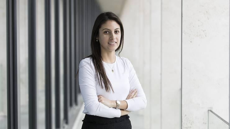 Estefania Tapias ist als eine der 30 besten europäischen Wissenschaftlerinnen unter 30 nominiert.