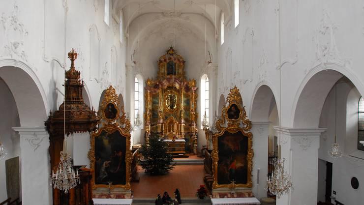 In der Stiftskirche in Schönenwerd findet das Orgelkonzert statt. (Archivbild)