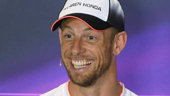 Jenson Button verbreitet gute Laune