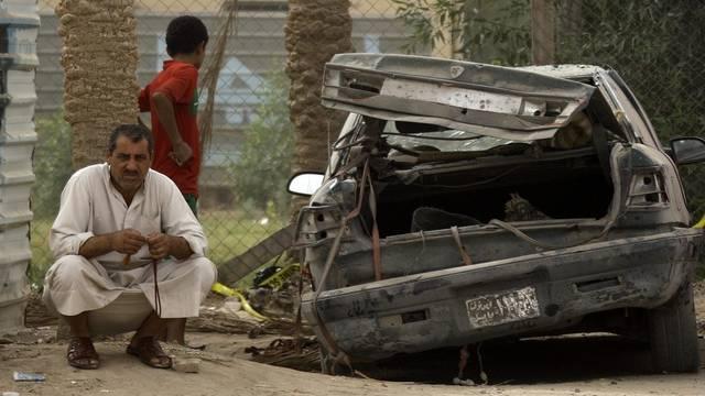 Gewalt gehört auf den Strassen Bagdads zum Alltag (Symbolbild)