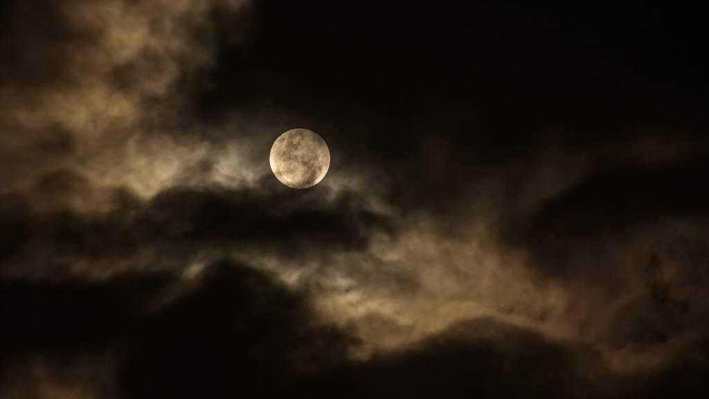 Nacht, Dunkel, Dunkelheit, Abend, Mond