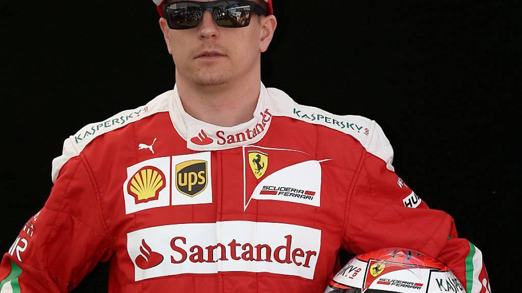Ferrari-Fahrer Kimi Räikkönen tankte nach den erfolgreichen Tests viel Selbstvertrauen für die neue Saison