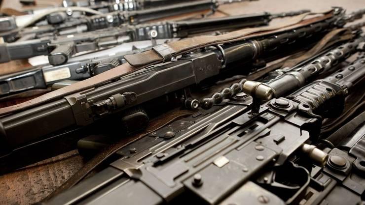Abgegeben wurden vor allem Armeewaffen (Archiv)