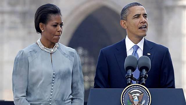 US-Präsident Barack Obama mit Gattin Michelle in Mumbai