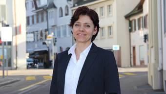 Christine Kaufmann EVP-Kandidatin, über den Amtsinhaber Hansjörg Wilde