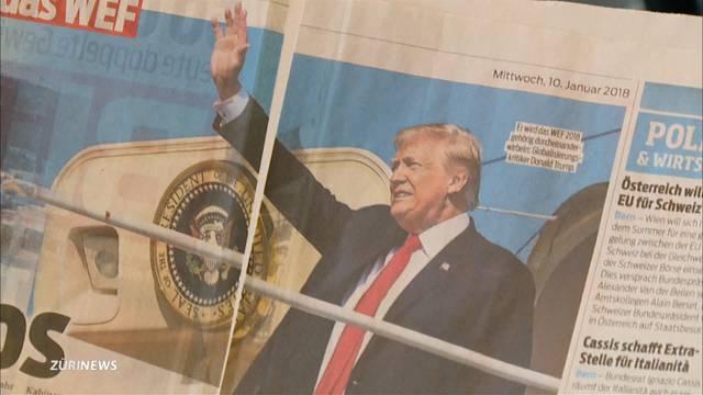 Trump in Davos: Keine grosse Begeisterung