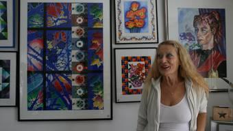Senka Wassmer-Bajlo ist nicht nur Malerin, sondern auch Buchautorin.