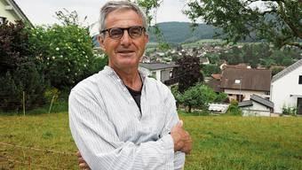 Freut sich auf die Premiere seiner neuen Geschichtenwanderung «Der verletzte Berg»: Kaspar Lüscher.