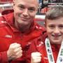 Der 11-jähriger Dietiker gewann im irischen Cork eine Goldmedaille und eine Silbermedaille.