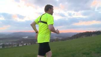 Mit dem ersten Aargau Marathon wird der 1. Mai zum Tag des Sports. Auf der Startliste stehen auch Politiker. Wir haben sie beim Training getroffen.