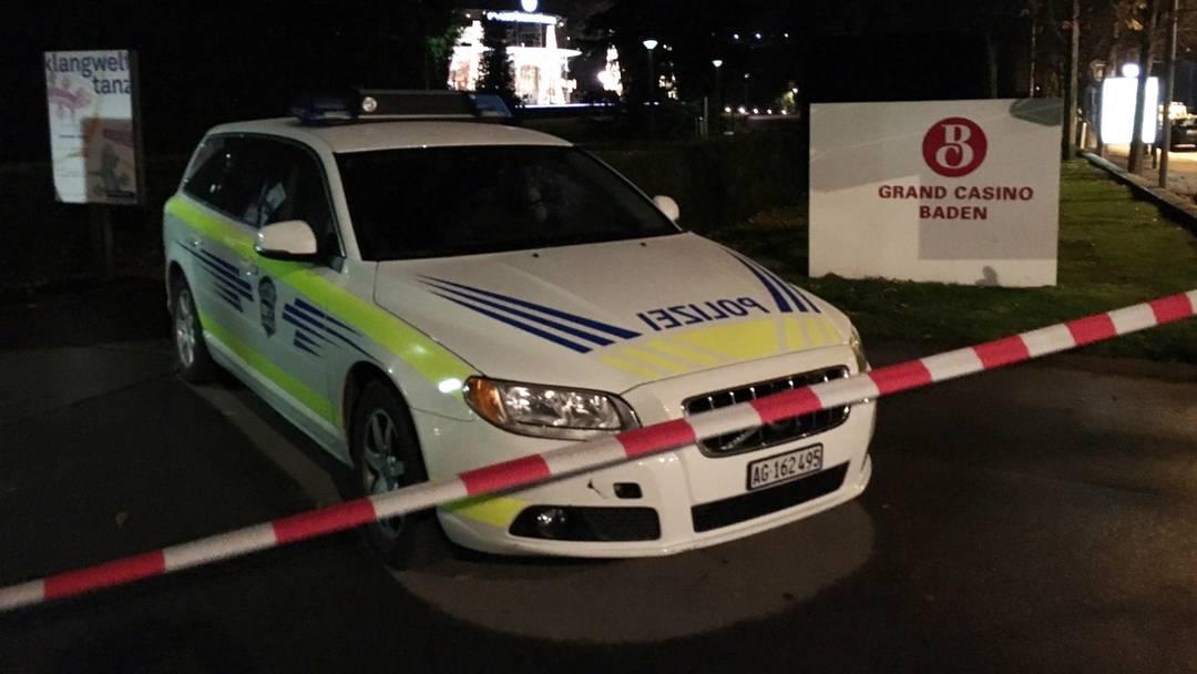 Bombendrohung im Grand Casino Baden