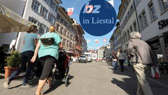 Das Liestaler Stedtli lädt zum Einkaufen und Flanieren ein. Abends ziehts die Jungen aber eher nach Basel.
