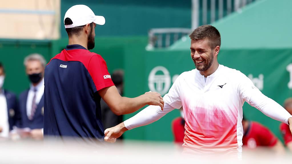 Quarantäne statt Roland Garros: Das führende Doppel Nikola Mektic (links) und Mate Pavic kann am French Open nicht antreten
