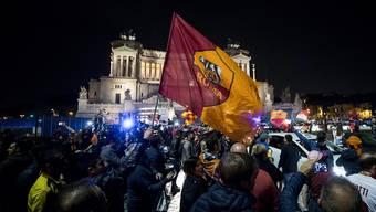 Champions-League-Überraschung: Die besten Bilder der Partie Rom-Barcelona