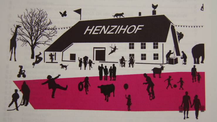 Unter dieser Affiche soll das Henzihof-Projekt segeln.