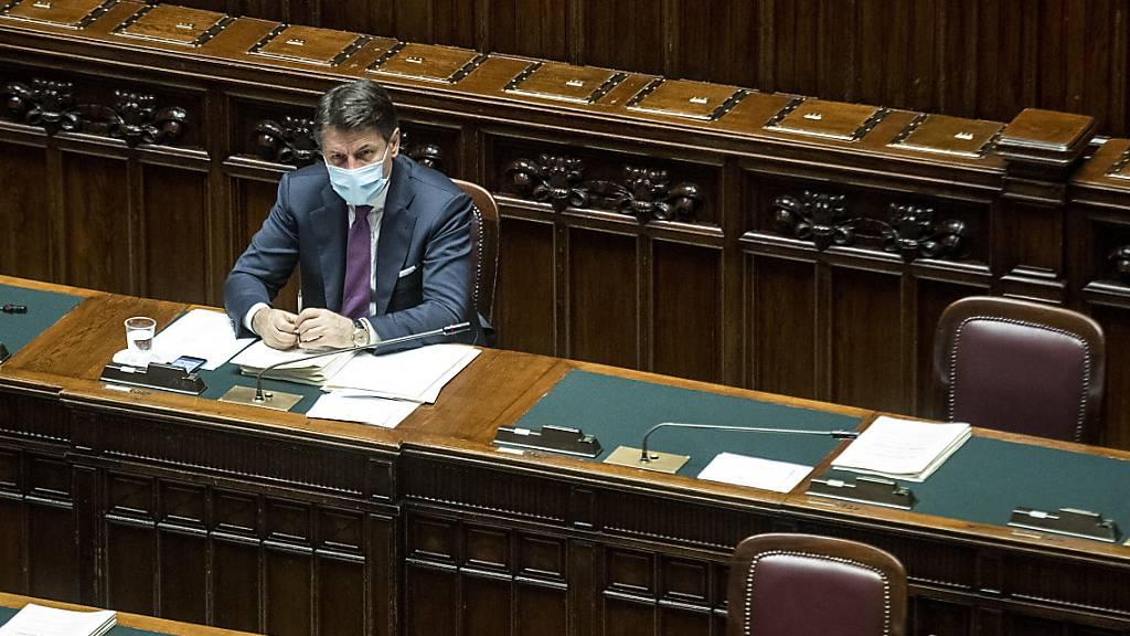 Parlament in Rom wird zum Corona-Hotspot