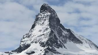 Die rechtspopulistische deutsche Partei «Alternative für Deutschland» warb auf einem Wahlplakat mit dem Matterhorn und erntete dafür viel Häme. (Archivbild)
