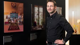 Der Badener Fotograf André Urech und seine Werke im Historischen Museum. alex spichale