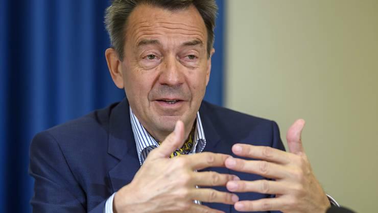 Der Präsident des Internationalen Komitees vom Roten Kreuz (IKRK), Peter Maurer, fordert die Einhaltung humaner Bedingungen in Flüchtlings- und Vertriebenenlagern. (Archivbild)