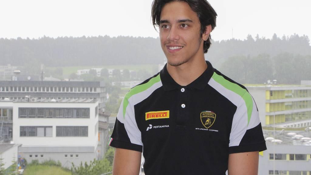 Lucas Mauron gehört aktuell zu den erfolgreichsten Rennfahrern der Schweiz.