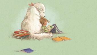 In «Annika und der Lesehund» wird das Thema Leseschwäche mit Samtpfoten angepackt.