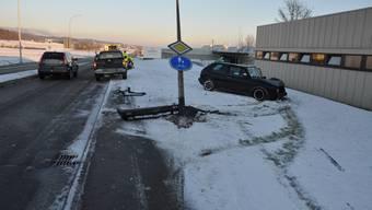 Unfall in Selzach