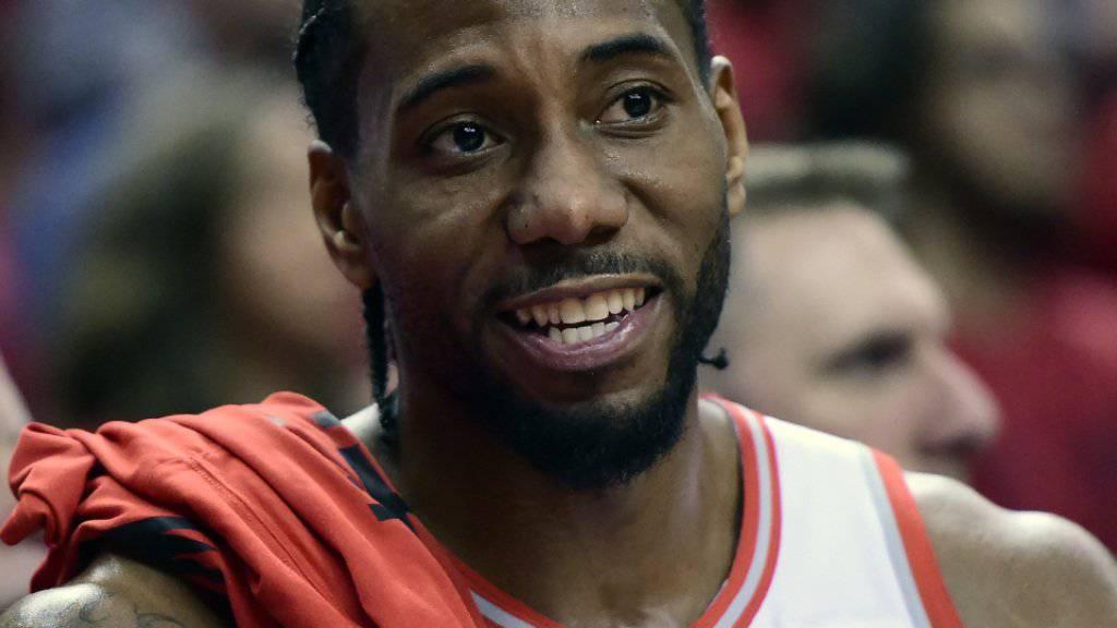 Kawhi Leonard schafft mit den Toronto Raptors den 2:2-Ausgleich in der Halbfinal-Serie gegen die Milwaukee Bucks