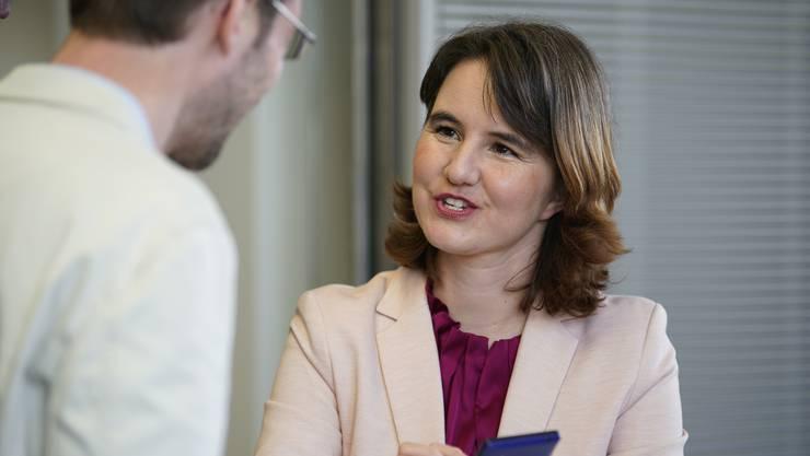 Simone Brander ist Zürcher SP-Gemeinderätin aus Wipkingen und Vertreterin des Nein- Komitees.