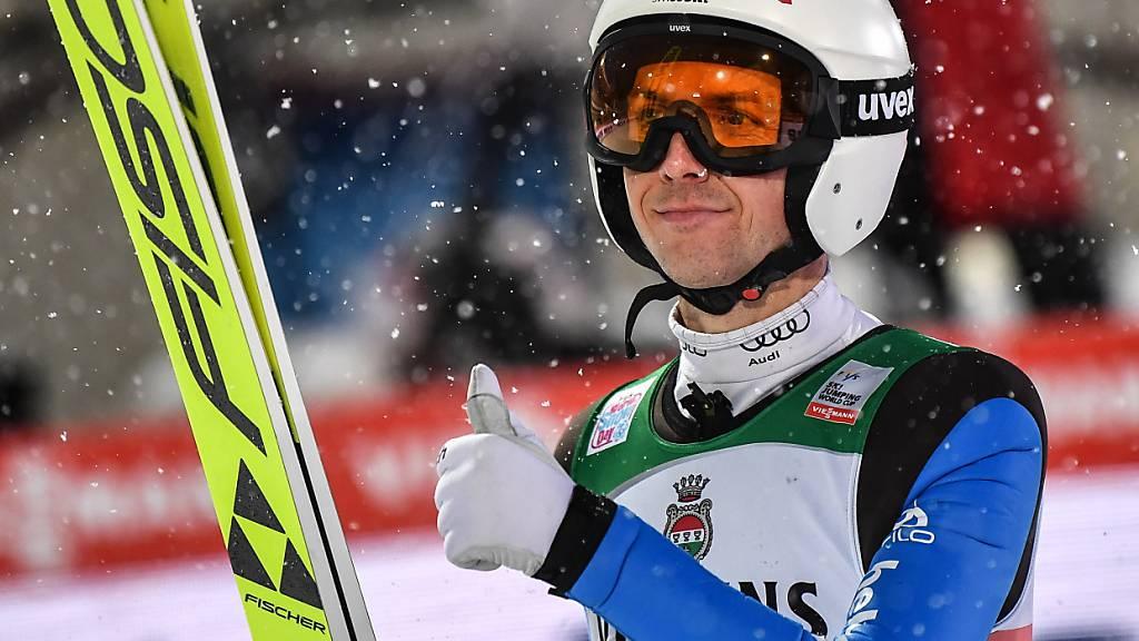 Simon Ammann überzeugt in der Qualifikation