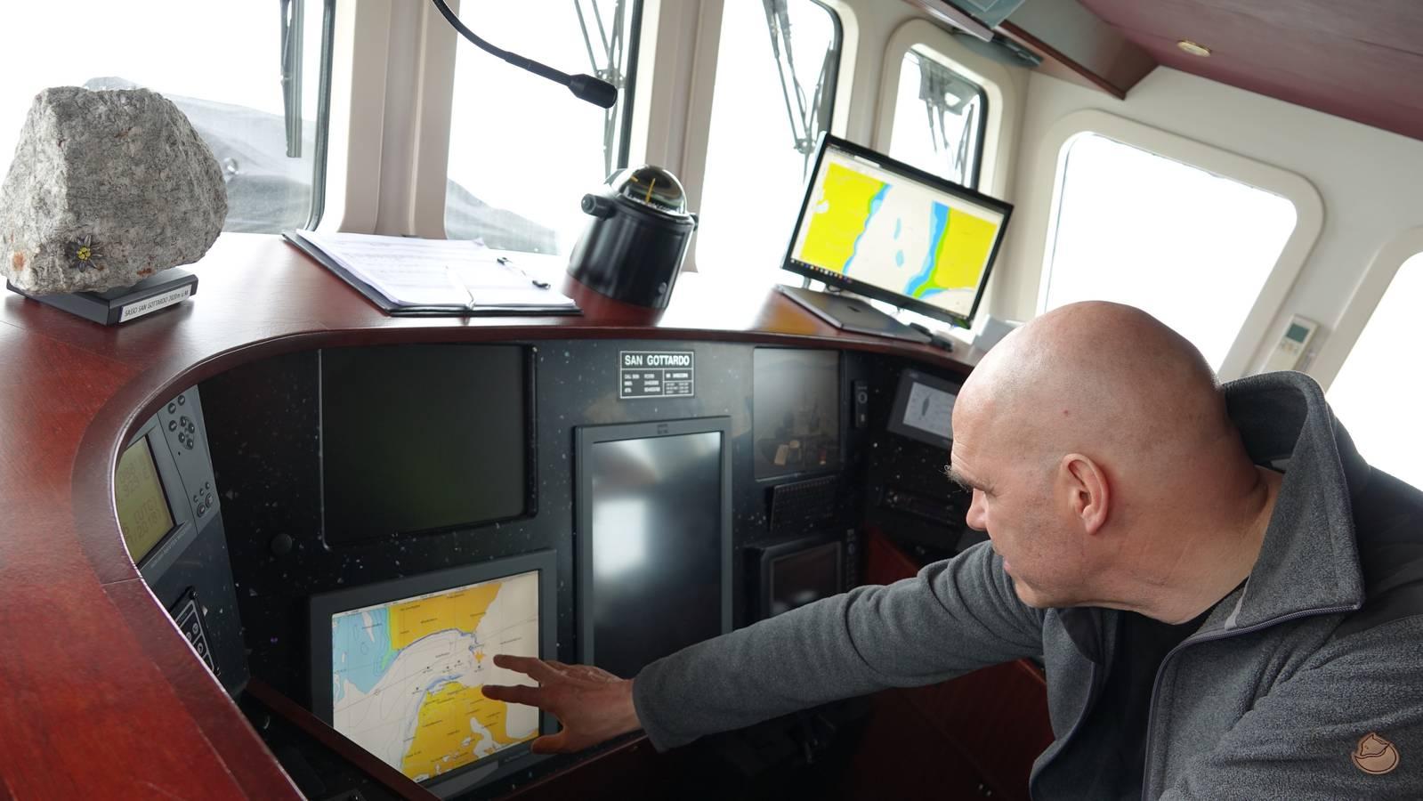 Mit dem Schiff «MV San Gottardo» reiste ich drei Wochen als Virgin Arktis-Reporterin durch die Arktis. (© Virgin Radio Switzerland)