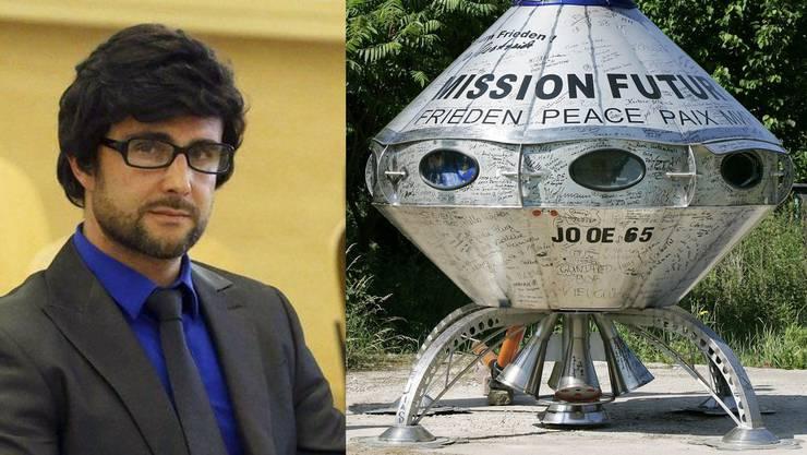 Alle sollen hinter Hervé Falciani her sein - möglicherweise wird er als nächstes von einem Ufo entführt.