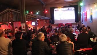 Handball-EM-Public-Viewing in Berikon