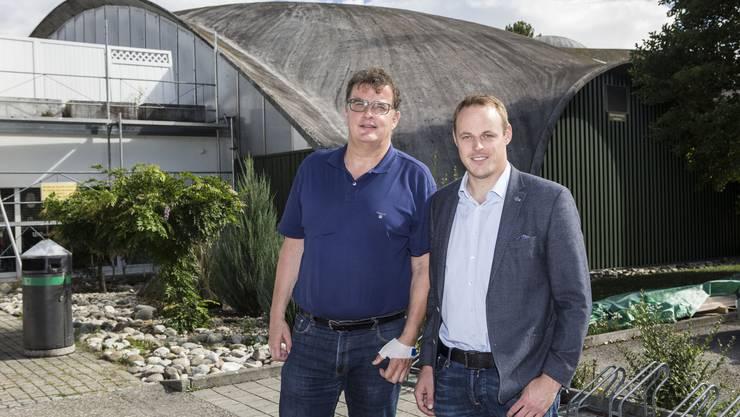 Co-Präsidium mit Stefan Blaser und Gaudenz Oetterli.
