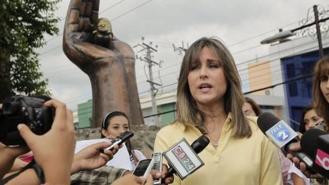"""Kundgebung der Anti-Abtreibungsgruppe """"Yes to Life"""" in San Salvador"""
