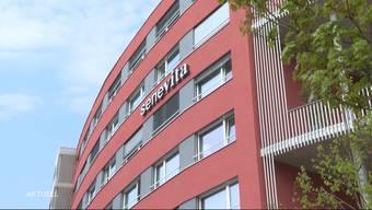 So berichtete TeleM1 am Ostermontag 2020 über den Brand von der Nacht zuvor.