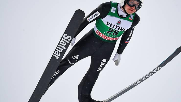 Simon Ammann fliegt derzeit der Konkurrenz hinterher.