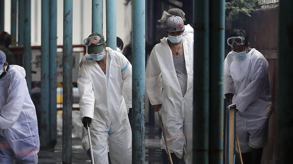 Philippinen mit Rekordzahl an Neuinfektionen – Ostermessen fallen aus