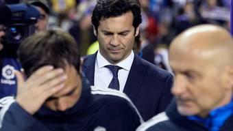 Trotz des Sieges gegen Valladolid befindet sich Real Madrid und Trainer Santiago Solari weiterhin in der Krise