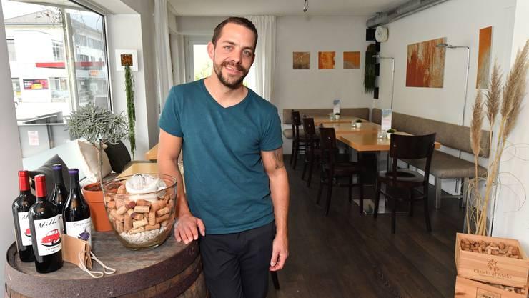Neuer Gastgeber im «Goccetto»: Marc Perren aus Hägendorf.