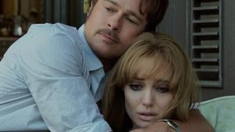 """Ehekrisen wie das von ihnen in """"By the Sea"""" gespielte Paar haben Brangelina zwar nicht, aber er kann schon mal explodieren und sie schmollen (Handout)."""