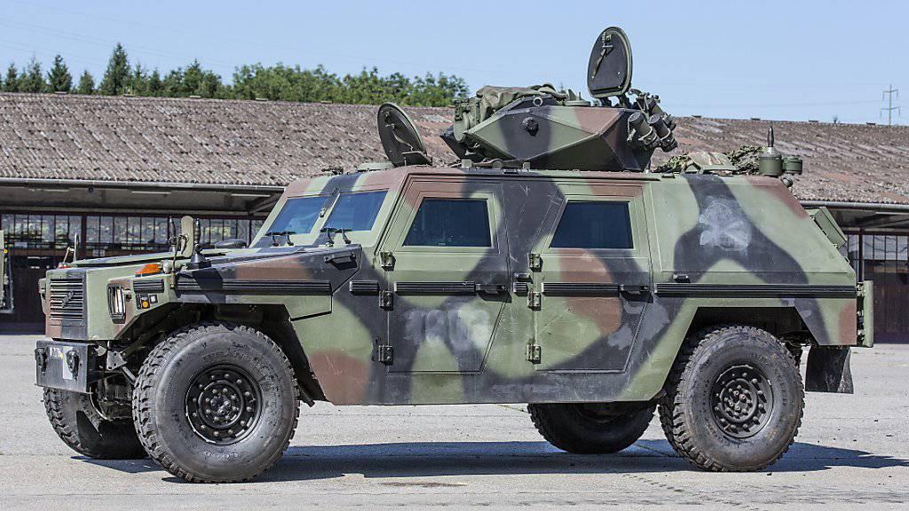 Aufklärungsfahrzeug der Schweizer Armee: In den USA sollen ähnliche Geländewagen künftig mit Wasserstoff betrieben werden (Archiv).
