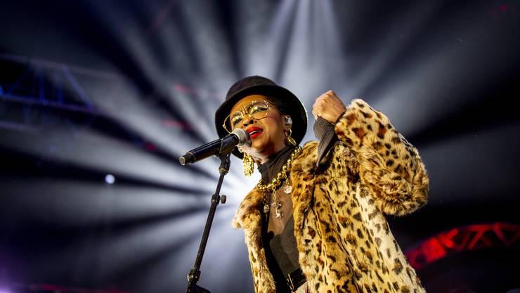 Ist sie «Ready or Not»? eine berechigte Frage bei Konzerten von Ms. Lauryn Hill.