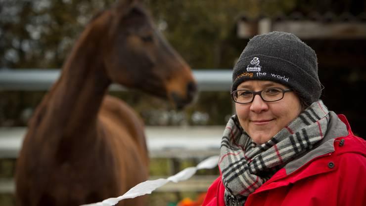 «Pferde sind uns sehr ähnlich», sagt Simone Landolt.